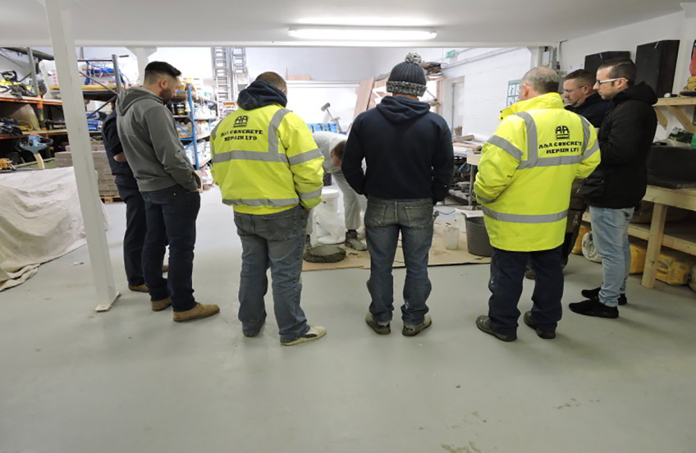 flexcrete a&a concrete products team